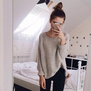The Split Knitted Sweater