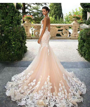 Cute Mermaid wedding Dress