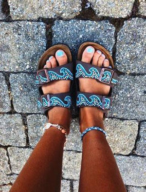 THEA waves island sandals