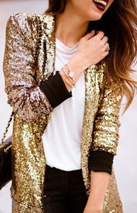 Addilyn Gold Jacket
