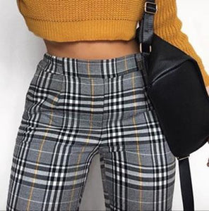 GEORGIA check pants