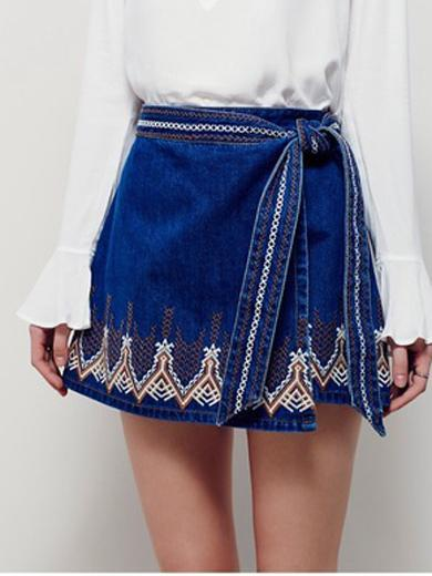 EMILY Denim Skirt