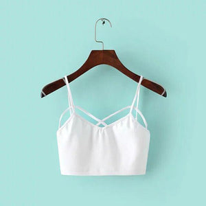 The Bustier Crop Tank Tops
