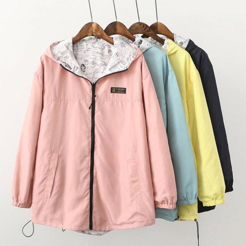 The Jacket Coat Pocket Zipper Hooded