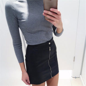 The Leather Skirt.