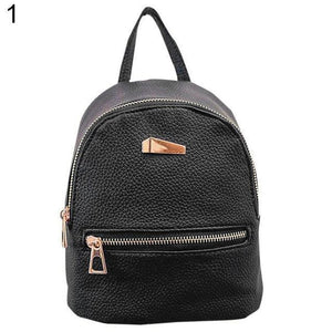 The Leather Mini Backpack