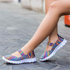 The Mixed Colors Female Shoes