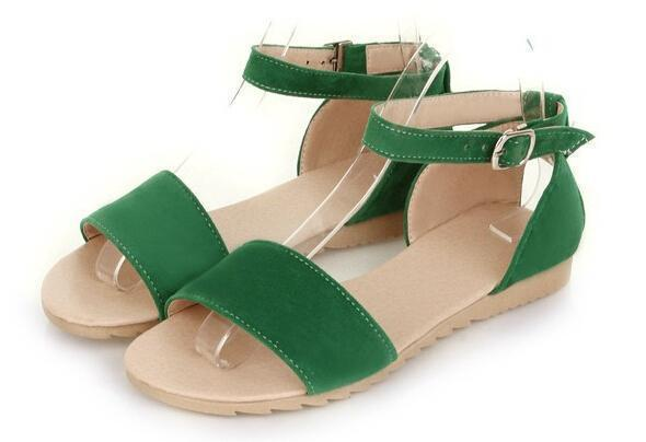 Candy Color Comfortalbe Summer Sandals