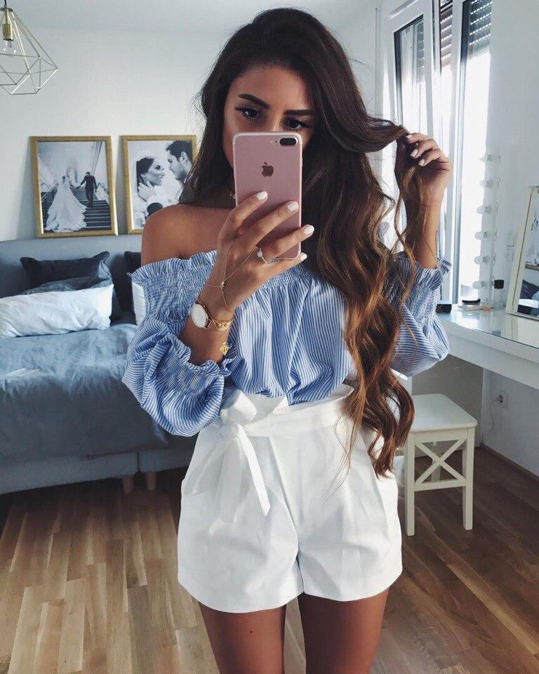 The Sexy Off Shoulder Blouses