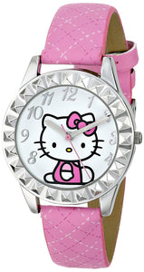 Hello Kitty Kids' HKAQ2801 Analog Display Analog Quartz Pink Watch