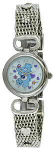 Rare CARE BEARS Collectible Silver Tone Ladies Watch