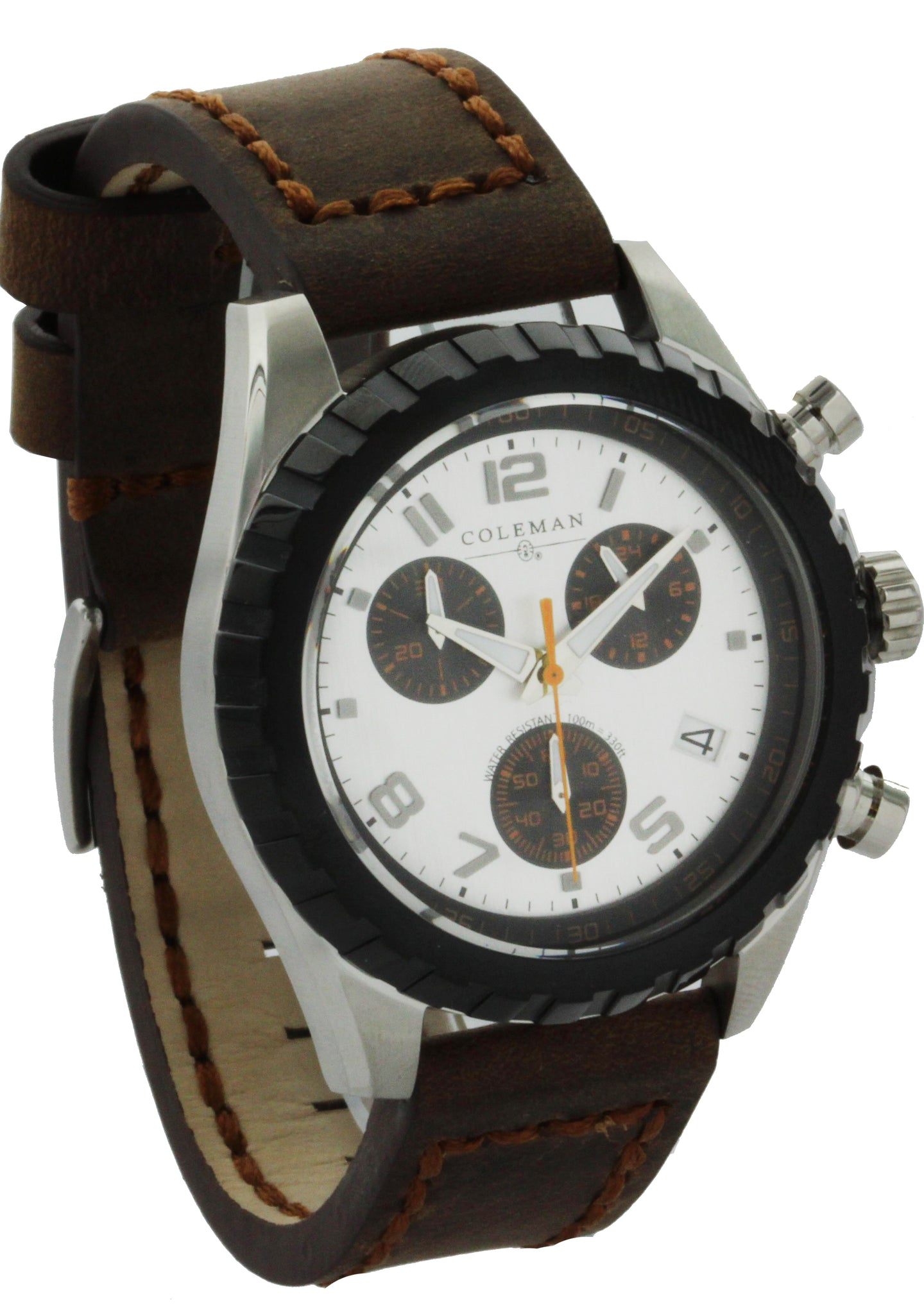 Stainless Steel Chronograph with date Men's Watch COL7107