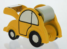 Load image into Gallery viewer, Car shape Miniature clock Tape Dispenser Holder TAPECUTERYEL