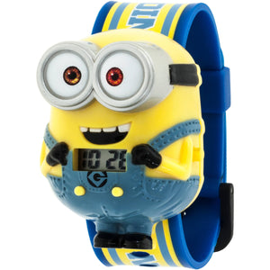 Despicable Me Minions Boys Molded Sound LCD Watch - DMEKD16002S