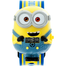 Load image into Gallery viewer, Despicable Me Minions Boys Molded Sound LCD Watch - DMEKD16002S