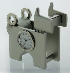 Dog shape Miniature clock Tape Dispenser Holder TAPECUTERYELDOG