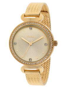 Elgin Ladies Gold Tone Watch - EG1610011