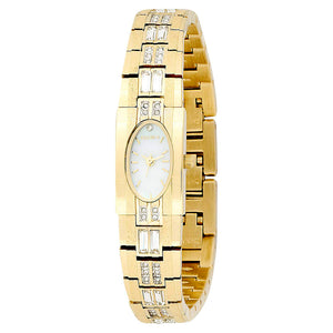 Elgin Women's Crystal Accented Dress Watch - EG713