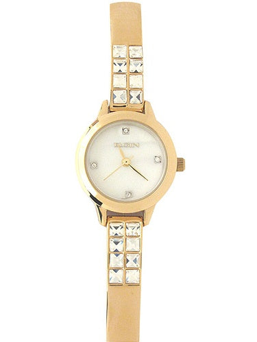 Elgin Women's Genuine Mother Of Pearl Dial