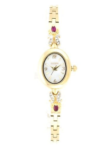 ELGIN Women's Petite Genuine Ruby Watch