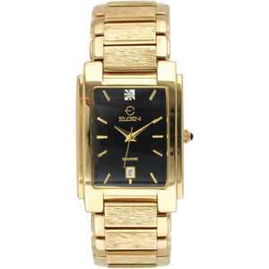Diamond Men's/Unisex FG066N All Gold Tone Black Dial