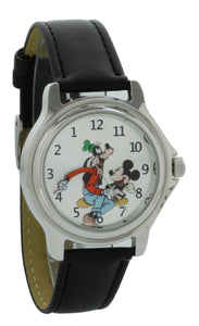 Disney Vintage style backward ticking watch Goofy And Micky Mouse Molded Hand Quartz watch GFY003