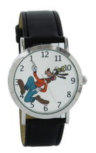 Load image into Gallery viewer, Disney Vintage Style Backward Ticking Goofy Watch - GFY002