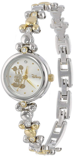 Disney Mickey Mouse Women's Two-Tone Link Bracelet Watch - MCK313