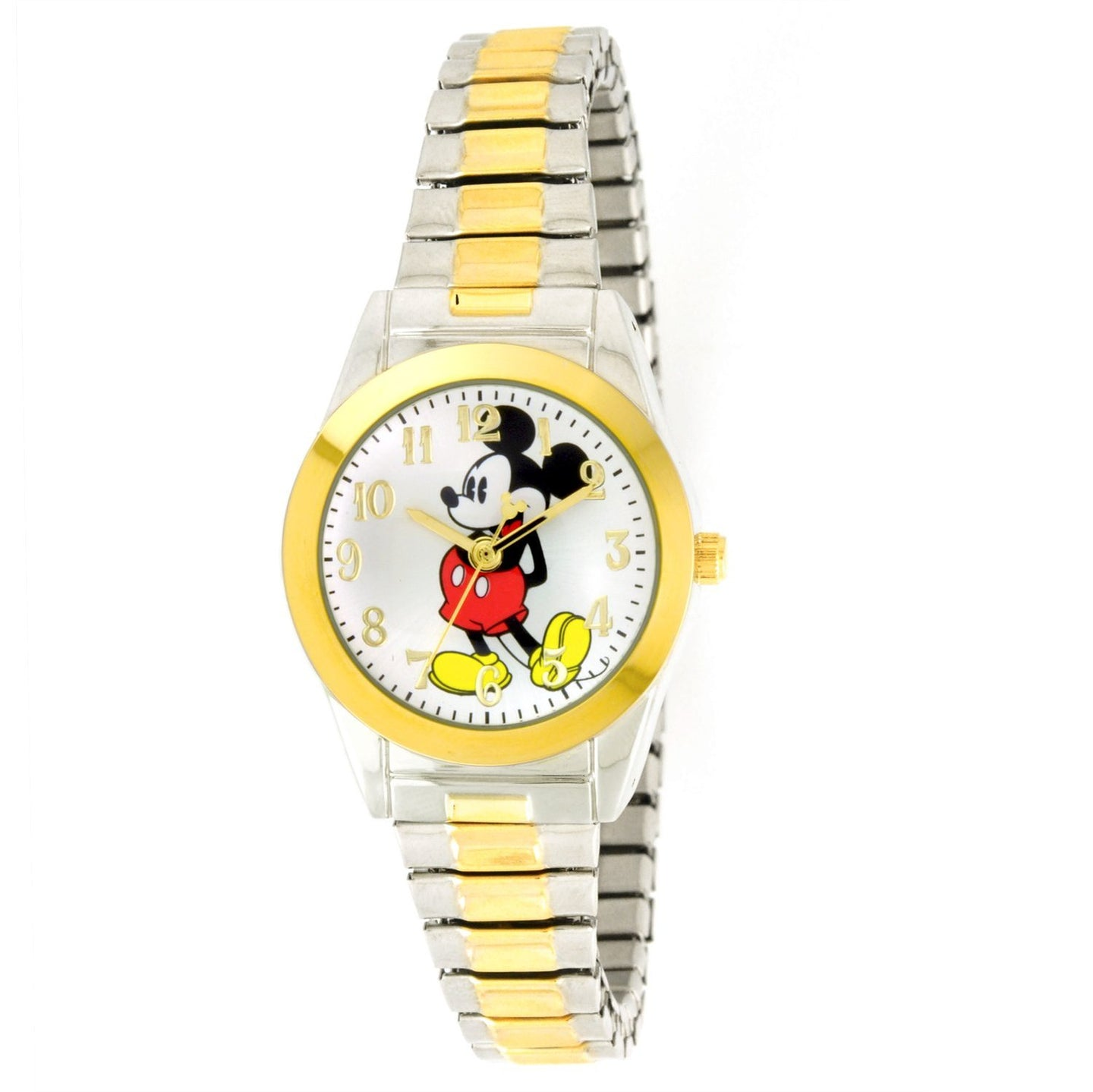 Disney Women's  Mickey Mouse Two-Tone Expansion Band Watch - MCK579