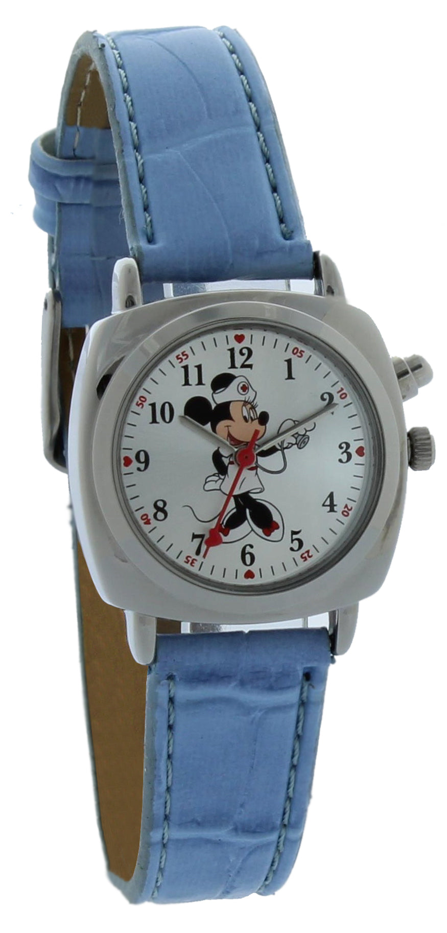 Disney Women's Out of production Minnie Mouse Nurse Musical Watch - MCK308-MUSICAL