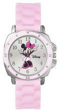 Load image into Gallery viewer, Disney Women's Minnie Mouse Pink silicon Strap Watch Mn1063