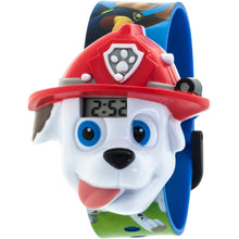 Load image into Gallery viewer, Nickelodeon PAW Patrol Boys Marshal Molded Sound LCD Watch - PAWKD16024S