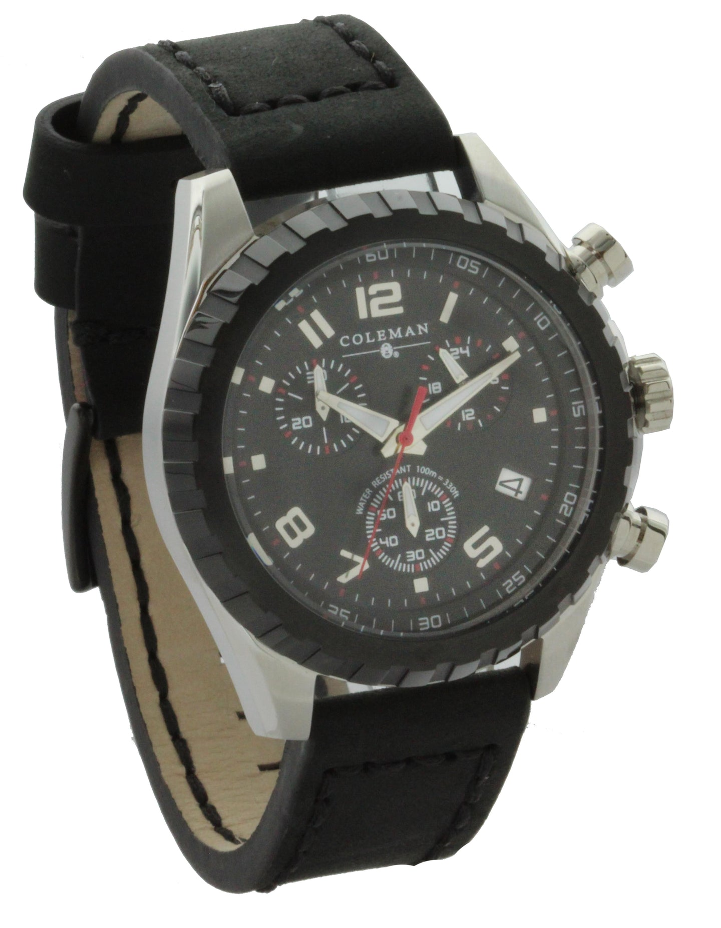 Coleman Stainless Steel Chronograph Men's Watch