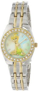 Disney Women's Tinkerbell Two-Tone Bracelet Watch - TNK406