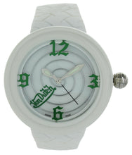 Load image into Gallery viewer, Von Dutch - Spiral Plastic - White & Green Numbers - Jumbo Case Swiss Made