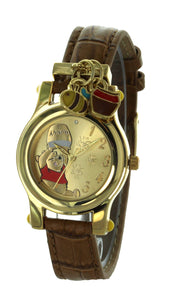 Disney Winnie The Pooh Wrist Watch With Cute Charm - WTP152
