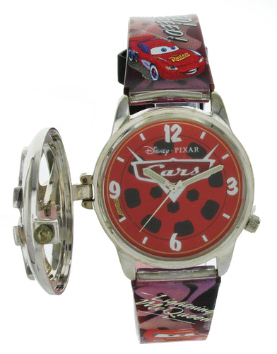 Collectibles DISNEY PIXAR CARS Analog Watch With Spinner cover CRS045