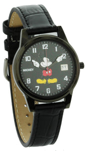 Disney Mickey Mouse Classic Watch for Men - Women Black Quartz Movement