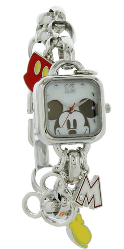 Disney Mickey Mouse Charm Bracelet Watch MK2228