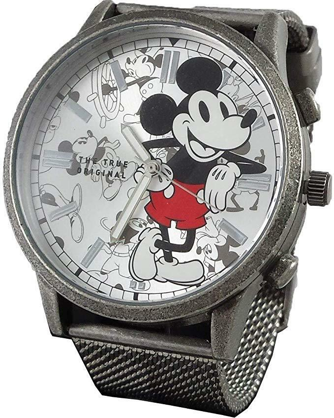 Disney Mickey Mouse Vintage design Men's Metal Watch MK8053
