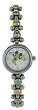 Load image into Gallery viewer, Disney Women's Happy Mickey Mouse elegant Two Tone Thin Bracelet Watch - MK8131