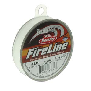 4 lb FireLine- Crystal 50 yards - FSJ Beading Supplies