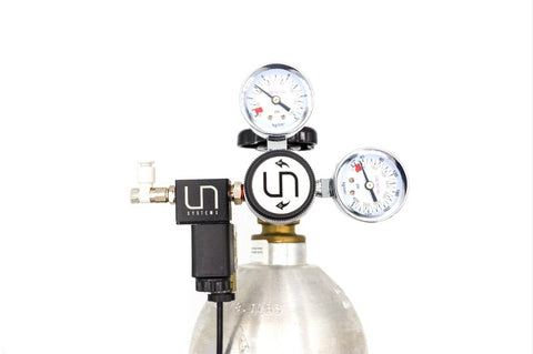 UNS Dual Gauge CO2 Regulator - GreatAscape