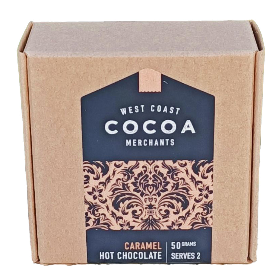 West Coast Cocoa Caramel Hot Chocolate
