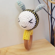 Load image into Gallery viewer, Made 4 MacKenzie Bee rattle/teether