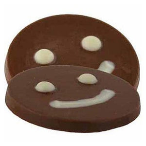 Chocolate happy face (price is for one)