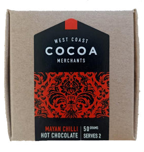 West Coast Cocoa Mayan Chilli hot chocolate