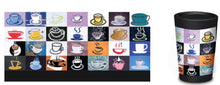 Load image into Gallery viewer, CuppaCoffee reusable cup (7 to choose from)