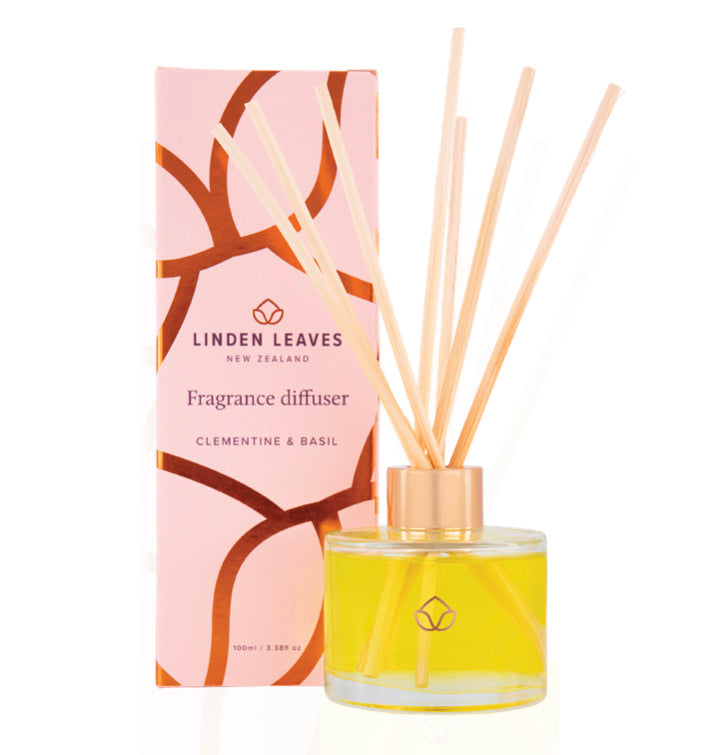Fragrance Diffuser - Clementine and Basil