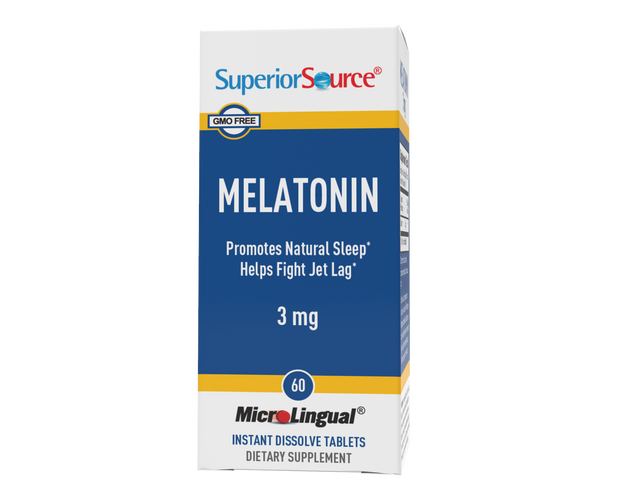 Superior Source Melatonin 3 mg With Chamomile